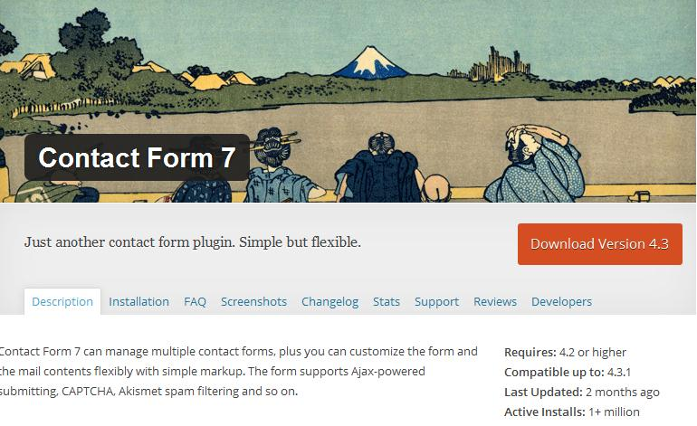 responsive contact form7